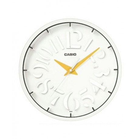 Reloj Analógico 64 9d Pared Iq Casio O0nk8wP