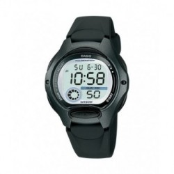 Reloj pusera CASIO para niños en color negro y sumergible LW-200-1B