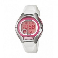 Reloj pusera CASIO para niños en color blanco y sumergible LW-200-4A