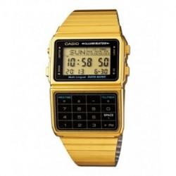 Reloj retro vintage con calculadora y telememo CASIO DBC-611GE-1E