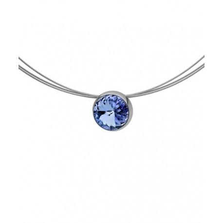 collar azul qudo