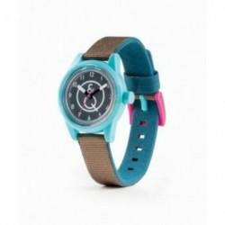 Reloj Q&Q SmileSolar mini series 001 sumergible y ecológico RP01J004Y