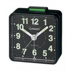 Despertador barato CASIO analógico con alarma de sonido zumbador TQ-140-1D