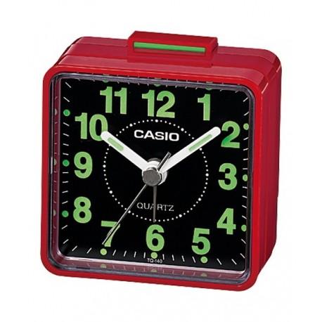 Despertador barato CASIO analógico con alarma de sonido zumbador TQ-140-4D