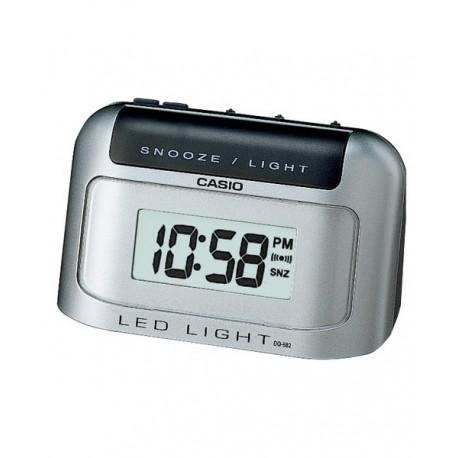 CASIO Despertador Digital sobremesa color plata DQ-582D-8R