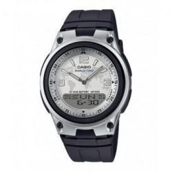 RELOJERIA Reloj Analógico-digital CASIO AW-80-7A2 PARA: hombre; TIPO: analógico digital; COLOR: negro; MATERIAL CAJA: