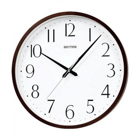 Reloj Pared Silencioso de Madera RHYTHM CMG122NR06