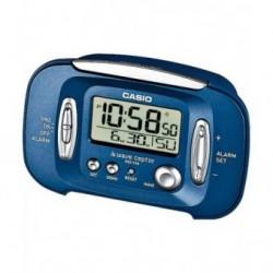 Despertador Radio Controlada Digital CASIO color azul DQD-70B-2EF