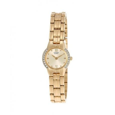 Reloj Dorado Señora Citizen EK1162-56P