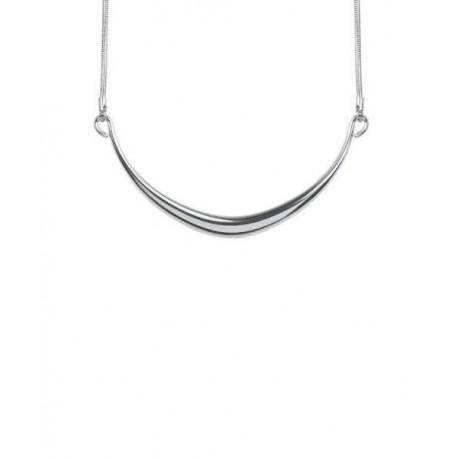 87ef2f724bb7 Encuentra Collar Gargantilla Metal Plateado Media Luna KARIEN