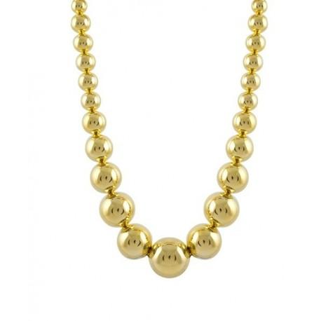 Collar Metal Dorado Ontia LUXENTER