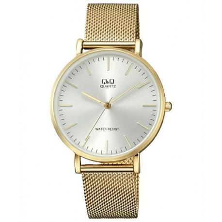 Reloj de moda unisex dorado Q&Q by Citizen QA20J001Y