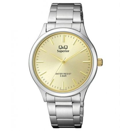 be8924ad28f5 Reloj Caballero Acero Sumergible de Q Q by Citizen S278J200Y