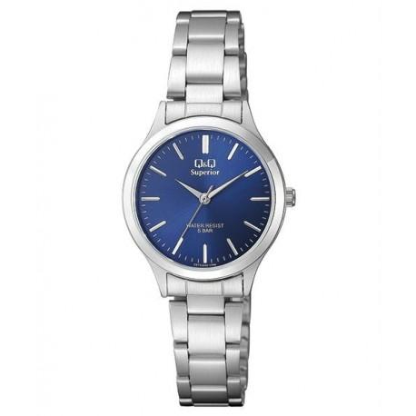 Reloj Señora Acero Sumergible de Q&Q by Citizen S279J202Y