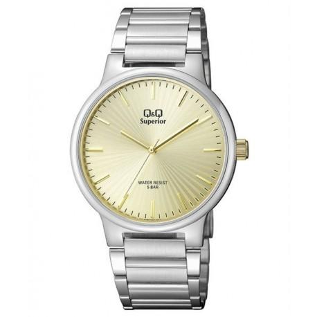 Reloj Sumergible para Caballero esfera champan de Q&Q by Citizen S282J200Y