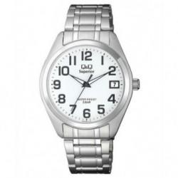 Reloj Caballero con Calendario y numeros arabes Q&Q by Citizen S286J204Y