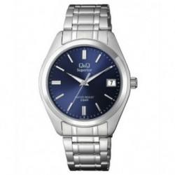 Reloj Caballero con Calendario y esfera azul Q&Q by Citizen S286J201Y