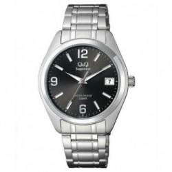 Reloj Caballero con Calendario y esfera negra Q&Q by Citizen S286J205Y
