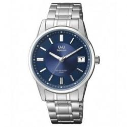 Reloj Caballero con Calendario y esfera azul Q&Q by Citizen S290J212Y