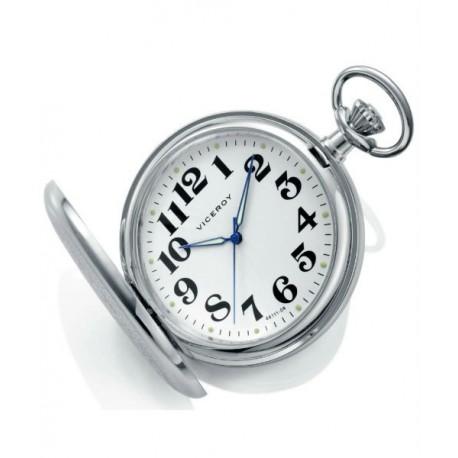 4ff50955d391 Reloj de Bolsillo regalo ideal para Caballero con cadena y numeros by  VICEROY 44111-04