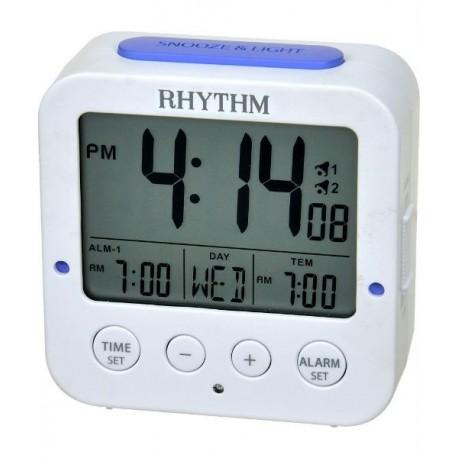 Despertador con Luz Nocturna Digital RHYTHM LCT082NR03
