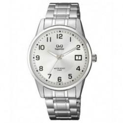 Reloj Caballero con Calendario y numeros Arabes Q&Q by Citizen S290J204Y