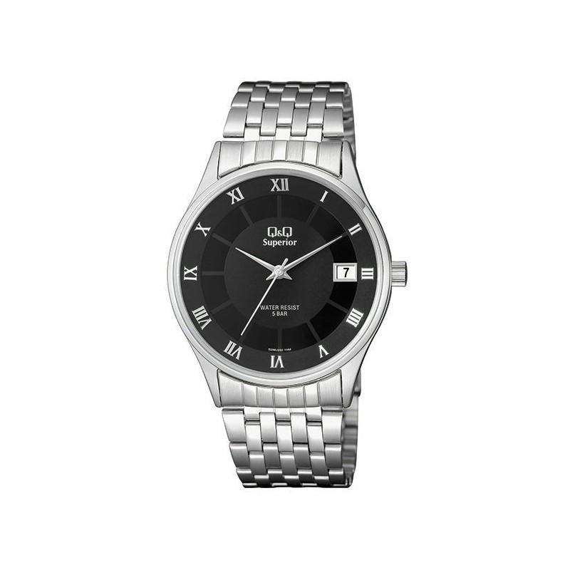 5fcc17c325ef Reloj Caballero con Calendario y numeros Romanos Q Q by Citizen S288J208Y