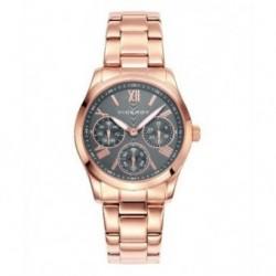 Reloj Pulsera de moda para mujer Viceroy con tres esferas de color oro rosa 42212-93