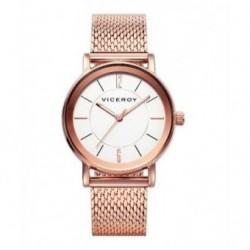 Reloj de moda elegante para mujer de color oro rosa Viceroy 40898-97