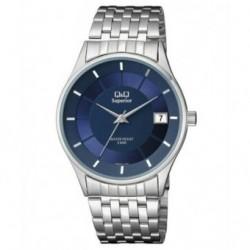 Reloj Caballero con Calendario y esfera azul Q&Q by Citizen S288J212Y