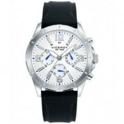 Reloj Pulsera Viceroy 40521-89 Caballero Acero Sumergible