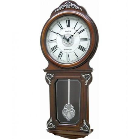 Reloj Pared Musical de madera RHYTHM CMJ380CR06