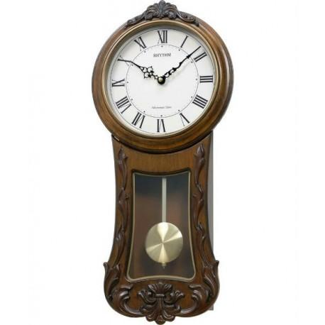 Reloj Pared Musical de madera RHYTHM CMJ546NR06