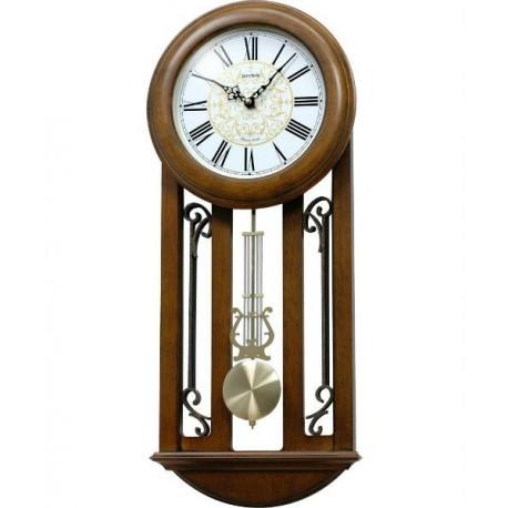 Reloj Pared Musical de madera RHYTHM CMJ547NR06