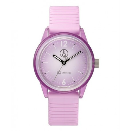 f1e26835a997 Reloj SmileSolar color Lila para chicas y señoras sumergible RP18J014Y
