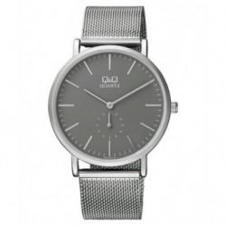 Relojes de moda con pulsera de malla para Hombre y Mujer Unisex Q97J202Y