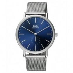 Relojes con pulsera de malla de moda para Hombre y Mujer Unisex Q97J212Y