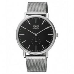 Relojes tendencia con pulsera de malla para Hombre y Mujer Unisex Q97J222Y