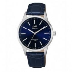 Reloj Sumergible para Caballero con esfera azul de Q&Q by Citizen S280J312Y