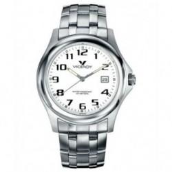 Reloj Pulsera para Caballero con numeros Acero y Sumergible de Viceroy 46215-04