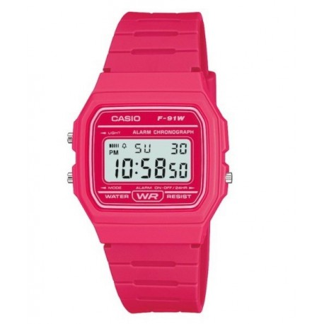 f0239f902e83 Encuentra CASIO Reloj retro vintage de moda unisex color fucsia