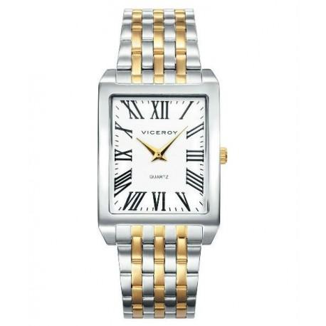 36395ad11442 Reloj Pulsera para Caballero rectangular con numeros Romanos de Viceroy  42239-92