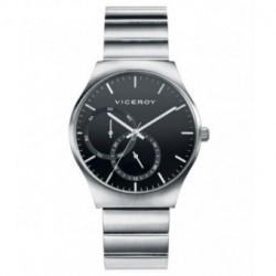 Reloj para Hombre elegante con esfera negra VICEROY 401091-57