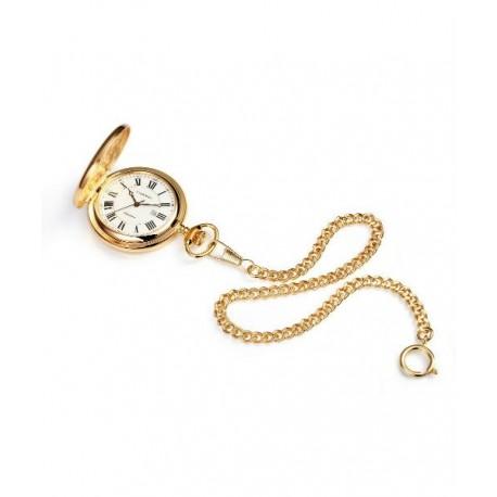 d2a02d87f816 Reloj de Bolsillo dorado regalo ideal para Caballero con cadena by VICEROY  44101-02