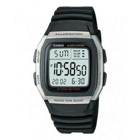 Correa original para reloj Casio W-96H-1A, W-96H-1B, W-96H-2A, W-96H-9A
