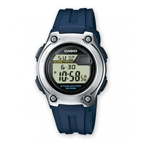 Encuentra Correa original color azul oscuro para reloj Casio