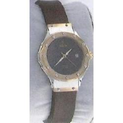 Correa para reloj DOGMA de 12 milimetros color marrón con cierre