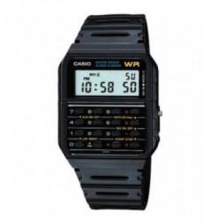 Casio Correa original color negro para reloj W-720, FT100W-1V, CA-53W-1Z, CA-61W-1U