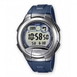 Casio correa original color azul para el reloj W-752-2A