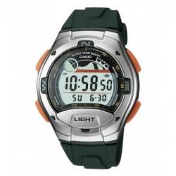Casio correa original color verde oscuro para el reloj W-753-3A